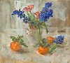 Hyacinths and Clementines, 2016 (Oil 34.5 x 30.5cm)