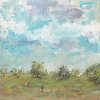 Spring Sky Greenwich Park, 2014 (Oil on Panel 35.5 x 35.5cm)