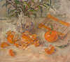 Tangerines and Voss, 2016 (Oil 26.5 x 23.5cm)