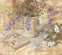 Bluebells and Andre Gide