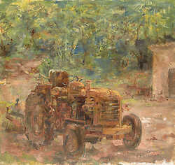 Christophe's Tractor