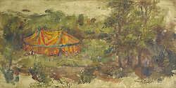 Circus Tent in River Valley
