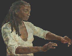 Dancer with Braids