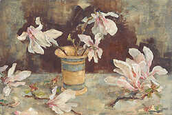 Magnolia Schubert and Striped Pot