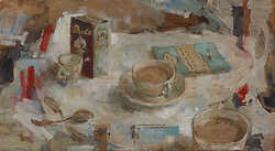 Objects around Teacup