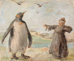 Talking to the Penguin