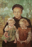 Michael, Isabel and Beatrice