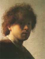 Portrait of Self as Young Man (Rembrandt)